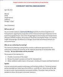 6+ Sample Business Invitation Letters | Sample Templates