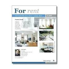Gallery Of Apartment Rental Flyer Template Free For Rent