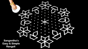Bhogi Muggulu Designs With Dots Sankranthi Chukkala Muggulu Pongal Kolam And Stunning