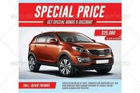 1809086 Car Sale Flyer 7193129 Freepsdvn