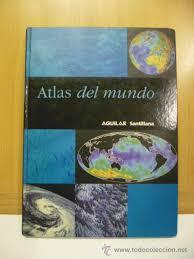 En sexto grado no hay libro de atlas de geografia los que se utilizan son el que entregan en cuarto y quinto grado por eso se les dice necesito el libro atlas de sexto grado. Atlas Del Mundo Aguilar Santillana Vendido En Venta Directa 47132423