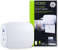 How To Add Z Wave Light Switch To Adt Pulse Ge 28169 Enbrighten Z Wave Plus Smart Switch 1 Outlet Plug In Works With Alexa Google Assistant Repeater Range Extender For Lamps Small