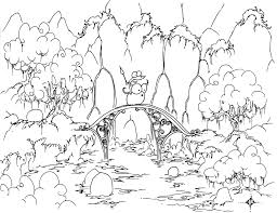 Forest 20 Nature Printable Coloring Pages Coloring 16882
