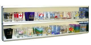 shot glass display shot glass shelves shot glass display case with mirror back ground shot glass shot glass