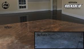 garage floor paint before and after. Plain After DIY Rock Solid Garage Floor Coating  BeforeAfter And Paint Before After F