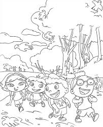 Small Picture Printable Little Einsteins Coloring Pages Coloring Me