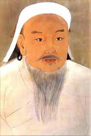 david nightingale genghis khan ~ ad temujin wamc portrait of genghis khan