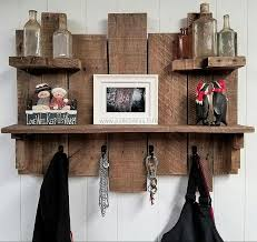 Pallets Rustic Coat / Key Rack Combo Pie.