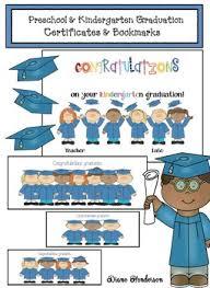 free preschool certificates free preschool kindergarten graduation certificate bookmarks