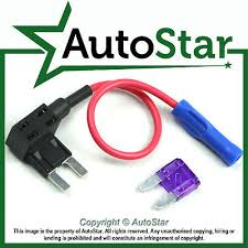 2 add a circuit fuse tap piggy back standard blade fuse holder add a circuit fuse tap piggy back mini blade fuse holder atm apm 12v 24v 12 volt