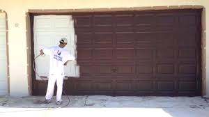 painting metal garage door how to paint a metal garage door painting a metal garage door painting