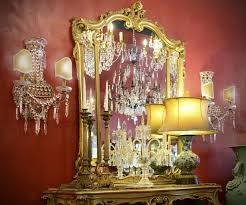 antique lighting and contemporary lampshades