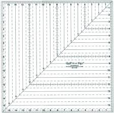 Paper Ruler Template Free | table runners | Pinterest | Squares ... & 16 Square Up Ruler by Quilt in a Day - Quilt in a Day / Rulers & Templates Adamdwight.com