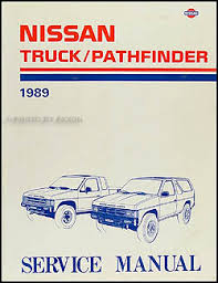 nissan truck and pathfinder wiring diagram manual original 1989 nissan pickup truck and pathfinder repair shop manual original