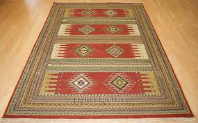 hacienda hac 51 rust flat weave hand knotted 100 wool rugs on