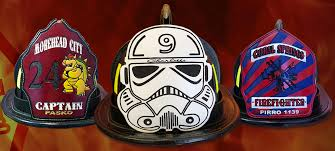 specializing in custom fire helmet shields
