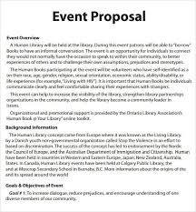 Event Proposal Letter Sample My College Scout