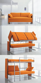 Cool couches for bedrooms Sectional Creative Black Metal Bunk Beds With Red Futon Couch For Cool Living Room Large Blue Ridge Apartments Cool Couches With Modern Shape Couches Idea Living Room