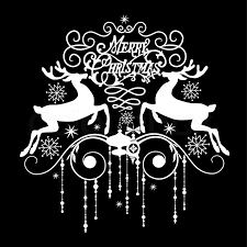 merry christmas card black and white. Simple White Stock Vector Of U0027Black And White Christmas Cardu0027 With Merry Card Black And N