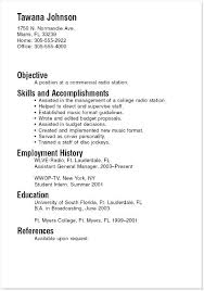 Job Resume Examples For College Students Unique College Resume Samples Sample Resumes Superb Job Resume Samples R