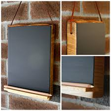 Kitchen Chalkboard With Shelf Hanging Chalkboard Tablet With Chalk Pencil Shelf Holder