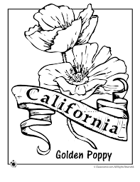 Just pick a coloring sheet, pay, and download! State Flower Coloring Pages Woo Jr Kids Activities