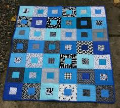 Black White and Blue quilt | WOMBAT QUILTS & This is actually a quilt I started a couple of years ago. I had put it away  in a cupboard and forgot about it, until now. In the spirit of challenging  ... Adamdwight.com