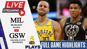 040721 NBA Live Stream Golden State Warriors vs Milwaukee Bucks | FULL GAME  HIGHLIGHTS