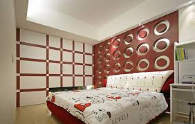 scenery modern bedroom wall decoration with mod on cool modern bedroom wall designs design ideas of