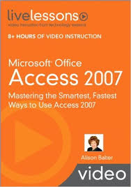 infotech services group microsoft office access 2007 livelessons microsoft office access 2007 livelessons video training 1st edition