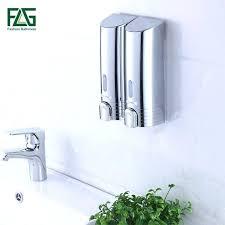soap and shampoo dispenser est double soap dispenser wall mounted soap shampoo dispenser shower helper for