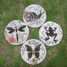 decorative garden stepping stones. New Arrival Ushop Fashion Rustic Pedal Foot Stone Decoration Decorative Garden Stepping Stones S
