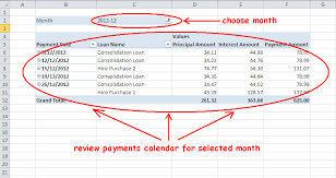 car loan amortization chart multiple loan or mortgage payment schedule calculator in excel