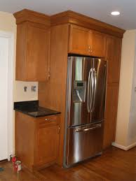 Kitchen Cabinet Installation Guide Kitchen Refrigerator Kitchen Cabinets 4 Cliqstudios Kitchen