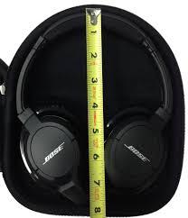 bose soundlink headphones. casebudi headphone case - compatible with bose ae2w and soundlink® around-ear bluetooth headphones soundlink
