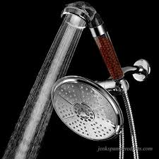 hotelspa all in one 3 way shower combo with 7 settings 7 inch rainfall shower head