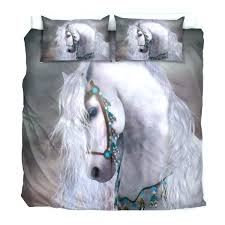 horse bed sheets double