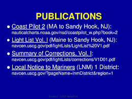 Session I Nautical Publications Ppt Download