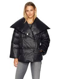 a x armani exchange women s lightweight oversized down jacket black xs