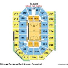 Citizens Bank Arena Seating Chart Citizens Business Bank Arena Seating Chart Citizens Business