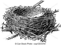 彫版 型 巣 Blackcap Atricapilla Sylvia あるいは
