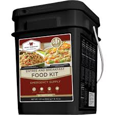 Wise Emergency Food Gluten Free Entree & Breakfast Grab And Go Bucket, 84 Servings | Survival Kits | Household | Shop The Exchange