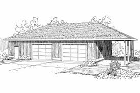 House Plan 92351 At FamilyHomePlanscomFour Car Garage House Plans