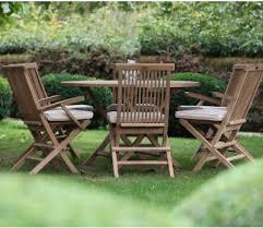 6 seater round bristol garden table set