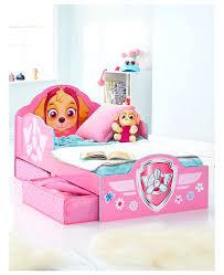 paw patrol toddler bed pink paw patrol toddler bed with storage furniture paw patrol skye 4