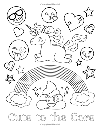 Showing 12 coloring pages related to emoji cookies. Amazon Com Emoji Coloring Book Of Funny Stuff Cute Faces And Inspirational Quotes 30 Awesome D Emoji Coloring Pages Coloring Books Free Adult Coloring Pages