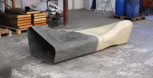 cement furniture. Dune. Modular Outdoor Furniture Cement E