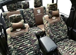 name transformers autobot customized camo auto car seat covers 10pcs sets for jeep liberty green