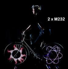 M232 Wheel Light Monkeyletric M232 32 Led Bike Wheel Light