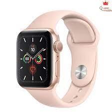 Đồng Hồ Thông Minh Apple Watch Series 5 GPS Only Aluminum Case With Sport  Band (Viền Nhôm & Dây Cao Su) - Nhập Khẩu Chính Hãng - QUEEN MOBILE